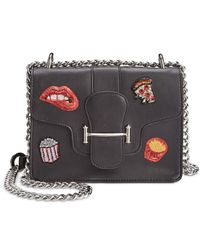 Circus by Sam Edelman | Black Customizable Phoebe Crossbody With Stickers | Lyst