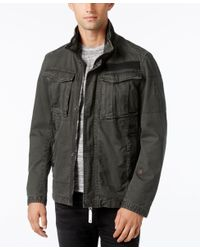 G-Star RAW | Multicolor Men's Rovic Stand-collar Overshirt for Men | Lyst