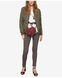 Sanctuary - Multicolor Quilted Bomber Jacket - Lyst