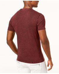 INC International Concepts - Red Graphic-print T-shirt, Created For Macy's for Men - Lyst