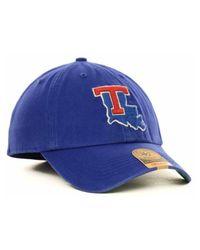 47 Brand   Blue Louisiana Tech Bulldogs Ncaa '47 Franchise Cap for Men   Lyst