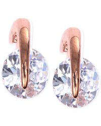 Givenchy | Pink Rose Gold-tone Prong Stud Earrings | Lyst