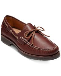 Cole Haan - Brown Men's Connery One-eye Lace Loafers for Men - Lyst