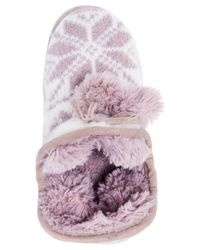 Muk Luks - Purple Pennley Ankle Boot Slippers - Lyst