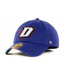 47 Brand - Depaul Blue Demons Ncaa '47 Franchise Cap for Men - Lyst
