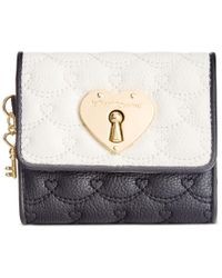 Betsey Johnson | Multicolor Boxed Swag Heart French Wallet, A Macy's Exclusive Style | Lyst