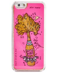 Betsey Johnson | Pink Champagne Iphone 6/6s Case | Lyst