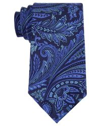Michael Kors | Blue Michael Men's Creston Paisley Tie for Men | Lyst