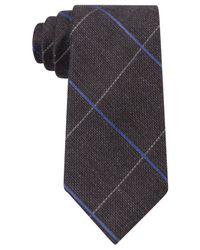 Michael Kors | Brown Men's Randy Grid Tie for Men | Lyst
