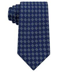 Sean John | Blue Men's Small Boxes Tie for Men | Lyst