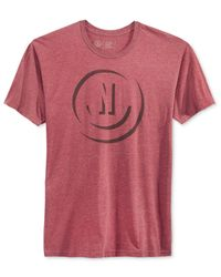 Neff | Pink Men's Shadow Graphic-print Logo T-shirt for Men | Lyst