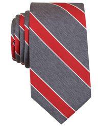 Perry Ellis | Red Men's Hanley Ii Stripe Tie for Men | Lyst
