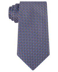 Kenneth Cole Reaction | Blue Men's Bling Dot Slim Tie for Men | Lyst