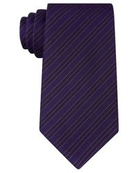 Kenneth Cole Reaction | Purple Men's Double Veloutine Stripe Tie for Men | Lyst