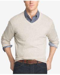 Izod | Multicolor Men's Campus V-neck Sweater for Men | Lyst