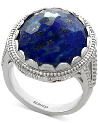 Effy Collection | Metallic Lapis Lazuli Statement Ring (12-1/5 Ct. T.w.) In Sterling Silver | Lyst