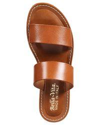 Bella Vita | Brown Imo-italy Sandals | Lyst