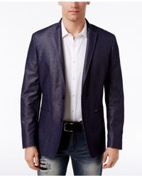 INC International Concepts | Blue Men's Aaron Slim-fit Blazer for Men | Lyst