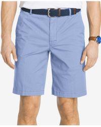 Izod | Blue Saltwater Stretch Chino Shorts for Men | Lyst