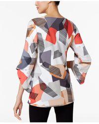 Alfani | Multicolor Angel-sleeve Top | Lyst