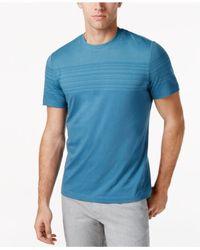 Alfani | Blue Men's Top-striped T-shirt for Men | Lyst