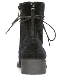 Circus by Sam Edelman - Black Dawson Lace-up Booties - Lyst