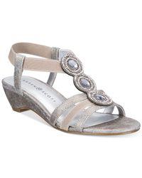 Karen Scott - Multicolor Casha Wedge Sandals, Created For Macy's - Lyst