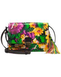 Patricia Nash | Multicolor Summer Bloom Lanza Small Crossbody Organizer | Lyst
