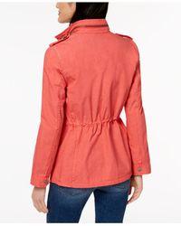 Levi's - Pink ® Lightweight Cotton Field Jacket - Lyst