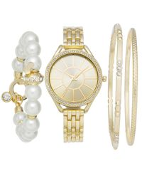 Charter Club - Metallic Women's Bracelet Watch 33mm & Bracelets Set - Lyst