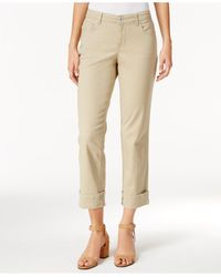 Style & Co.   Blue Cuffed French Birch Wash Jeans   Lyst