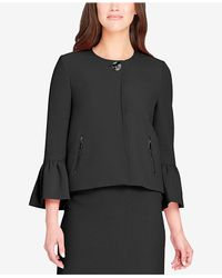 Tahari - Black Trumpet-sleeve Skirt Suit - Lyst