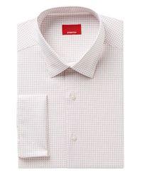 Alfani | Multicolor Men's Classic/regular Fit Performance Stretch Square Dot Print Cranberry Dress Shirt, Created For Macy's for Men | Lyst