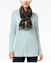 Eileen Fisher | Multicolor Hand-loomed Organic Cotton Scarf | Lyst