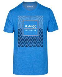 Hurley | Blue Men's Water Premium Graphic-print Logo T-shirt for Men | Lyst