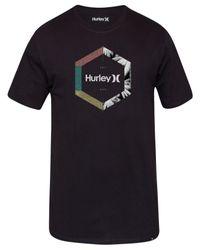 Hurley | Black Men's Outlier Premium Graphic-print Logo T-shirt for Men | Lyst