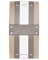 Michael Kors | Multicolor Selma Swap Soft Box Stripe Medium Top Zip Satchel Cover | Lyst