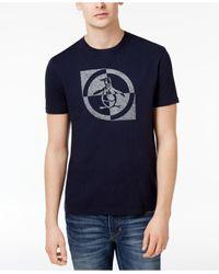 Original Penguin   Blue Men's Graphic-print Cotton T-shirt for Men   Lyst