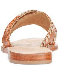 Kelsi Dagger Brooklyn - Multicolor Crown Flat Sandals - Lyst