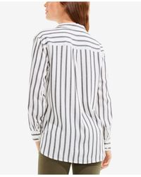Vince Camuto - Multicolor Striped Shirt - Lyst