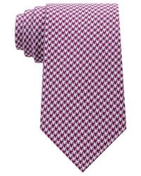 Sean John | Purple Men's Houndstooth Solid Tie for Men | Lyst