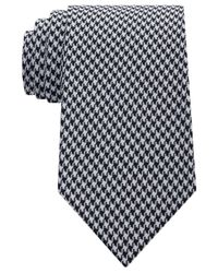 Sean John | Black Men's Houndstooth Solid Tie for Men | Lyst