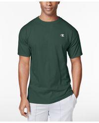 Champion - Black Men's Jersey T-shirt for Men - Lyst