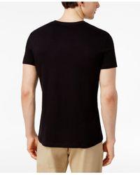 William Rast | Black Men's Graphic-print Cotton T-shirt for Men | Lyst