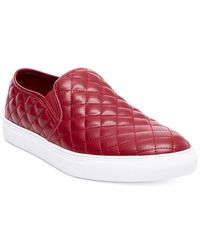 Steve Madden - Red Men's Element Slip-on Sneakers for Men - Lyst