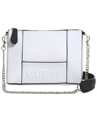 Guess - White Kamryn Small Crossbody - Lyst