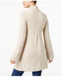 Style & Co. - Natural Fit & Flare Cardigan Jacket - Lyst