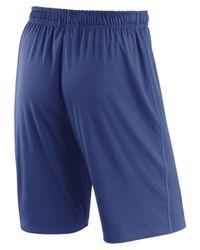 Nike Blue Men's Dry Fly Shorts for men