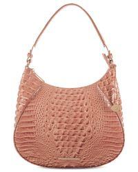 Brahmin - Pink Amira Melbourne Large Hobo - Lyst