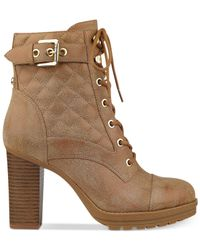 G by Guess - Brown Gram Boots - Lyst
